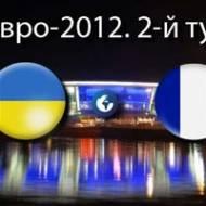 Прямая видео трансляция Евро-2012 Украина – Франция
