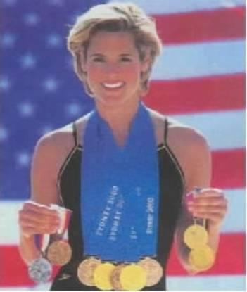 Дара Торрес - четырёхкратная олимпийская чемпионка