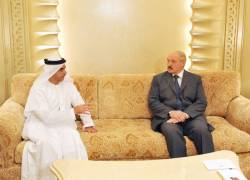 Лукашенко вместе с сыном посетил Большую мечеть в Эмиратах