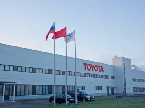 Завод Toyota в Петербурге придерживается плана расширения в 2016 году