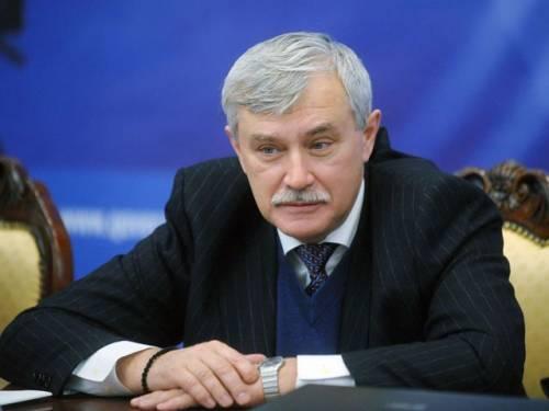 Губернатор Полтавченко сократил чиновникам зарплату на 10% в Санкт-Петербурге