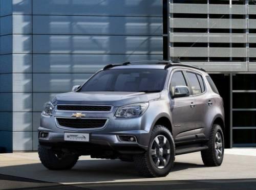 В Индии заметили новый Chevrolet Trailblazer