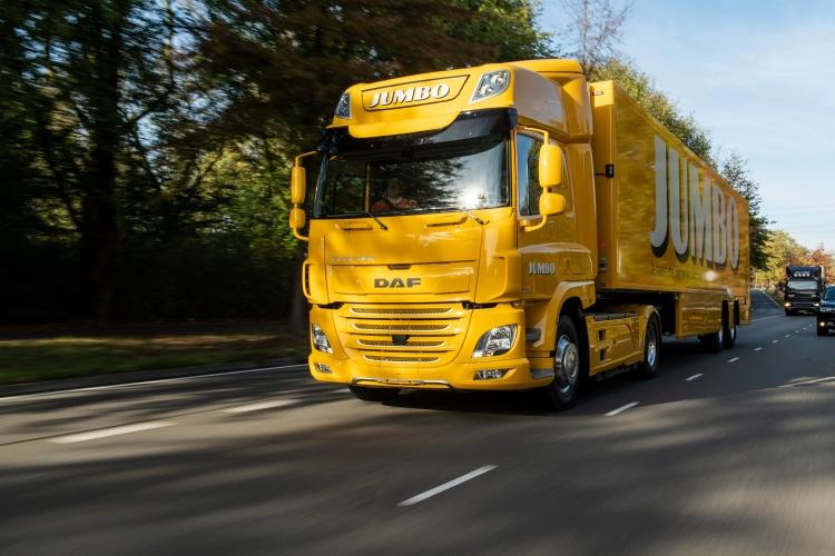 DAF поставила свой первый электрический грузовик